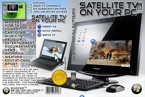 ULTIMATE SATELLITE TV ON YOUR PC (3000 CHANNELS) [PC CD-R