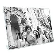 MCS Bent Acrylic Picture Frame 4 by 6-Inch, Horizontal