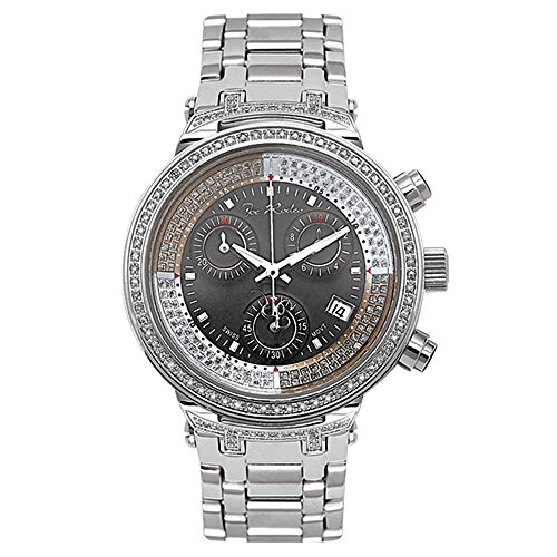 Joe Rodeo JJML35 Master Lady Diamond Watch, White Dial