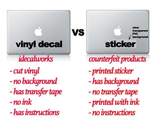 """BB8 """"Glowing"""" Apple Mac Star Wars Movie Macbook Decal Vinyl"""