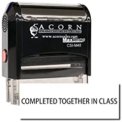 MaxStamp - Self-Inking Completed Togethe...