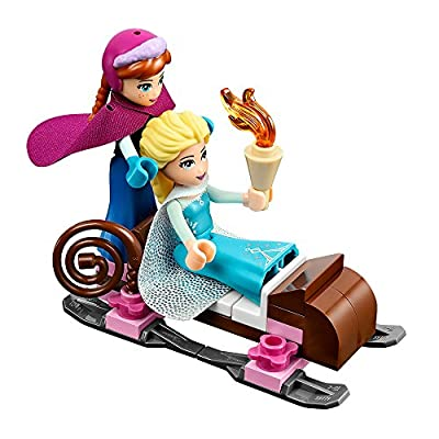 LEGO Disney Princess Elsa's Sparkling Ice Castle Set #41062: Toys & Games