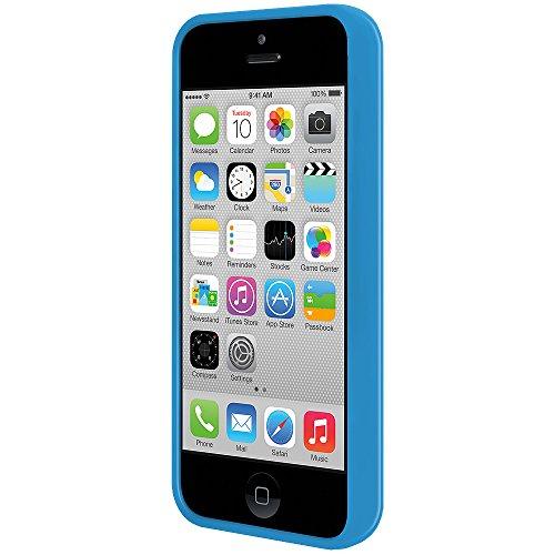 SlimGrip Amzer Hybrid Schutzhülle für iPhone 5C, Cloudy, Blau