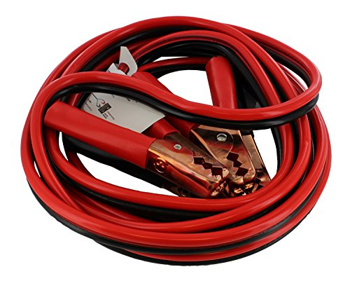 ABN Jumper Cables with Carrying Bag, 16 Feet, 8-Gauge, 300 AMP – Commercial Grade Automotive Booster Cables, Any Vehicle 16 Gauge Bag Wire