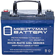 12V 35AH GEL BATTERY FOR GOLDEN TECHNOLOGY,GOLDEN COMPANION I II - Mighty Max Battery brand product