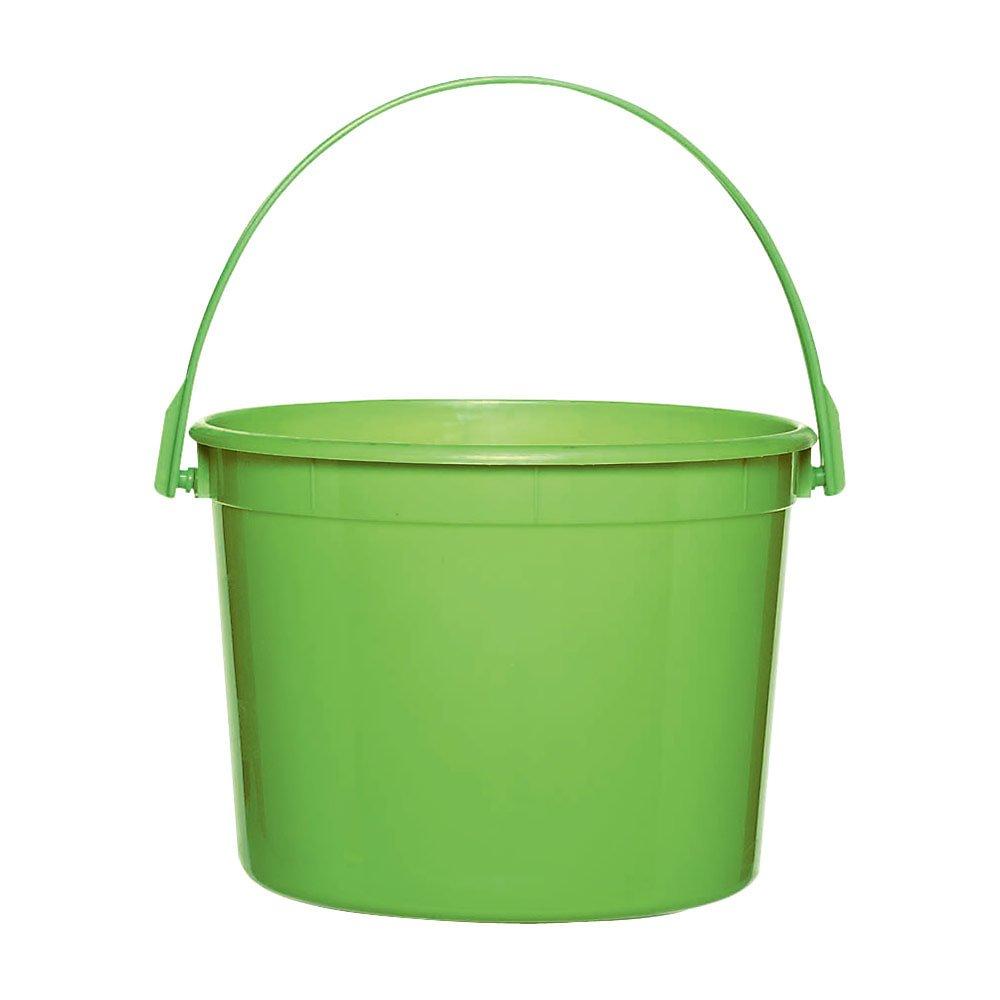 Kiwi Green Plastic Bucket