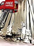 Lot of 8 ½ inches long Metal Truck and Trailer Flat Head Security Seals - Metal Flat Head Seal – Flat Metal Seals – Flat Metal Seals ( 1,000 Pack)