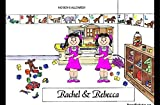 Personalized Friendly Folks Cartoon Side Slide Frame Gift: Twin Sisters Great for room décor