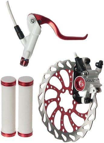 Tender Dominante cerca  Amazon.com : Clark's Skeletal Hydraulic Brake L.E. Kit, 160mm,  Red/White/Black : Hydraulic Disc Bike Brakes : Sports & Outdoors