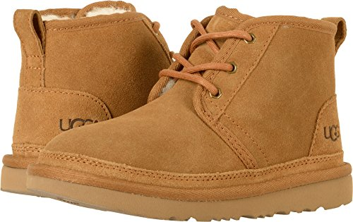 UGG Kids K Neumel II Chukka Boot, Chestnut, 6 M US Big Kid]()