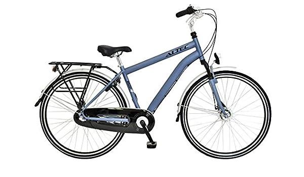 Bicicleta holandesa para hombre, 3 marchas Altec Walesa 28 pulgadas azul 52 cm: Amazon.es: Deportes y aire libre