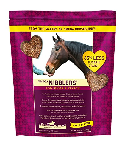 - Omega Nibblers Low Sugar & Starch, 3.5 lb