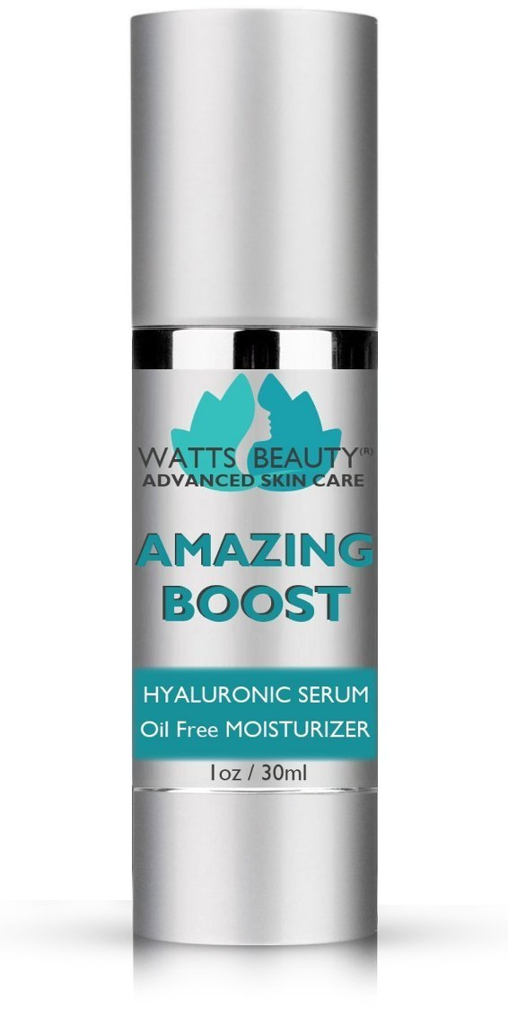 Watts Beauty Amazing Boost Hyaluronic Serum for Volumes of Moisture to Give Your Skin a Voluminous