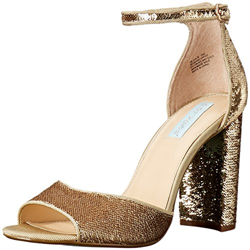 Blu By Betsey Johnson Donna Sandalo Oro Sb-calie