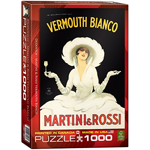 EuroGraphics Vermouth Bianco Martini Rossi 1000 Piece Puzzle