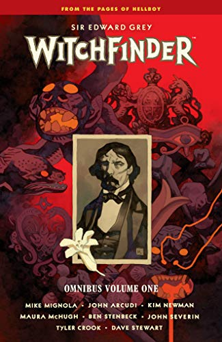 Book cover from Witchfinder Omnibus Volume 1 by Mike Mignola