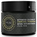 Teeth Whitening Charcoal Powder - Natural Activated Coconut Charcoal Toothpaste Raw Organic Food Grade for Stronger Healthy Whiter Teeth