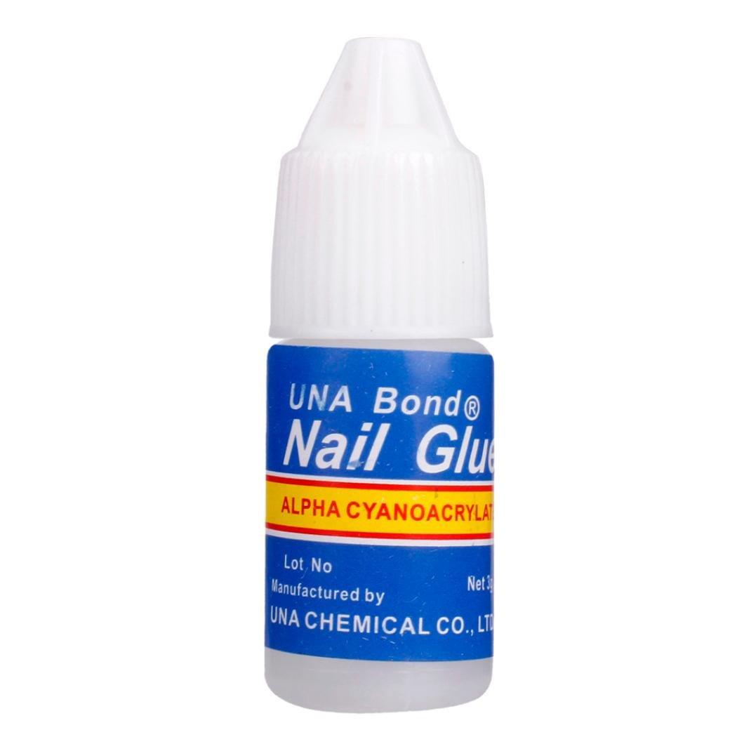Dolloress Nail Tips⭐5 Pcs/Set Clear 5.5X1.5cm Nail Glue Use for Rhinestones Nail Stickers False Tips Nails Decoration