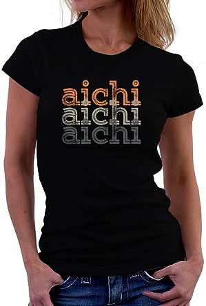 Teeburon Aichi Repeat Retro Women T-Shirt