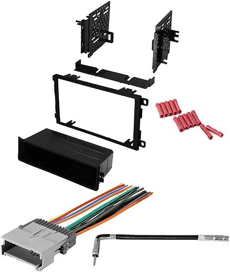 2002 chevrolet trailblazer wiring harness amazon com cach   kit914 bundle with car stereo installation kit  bundle with car stereo installation