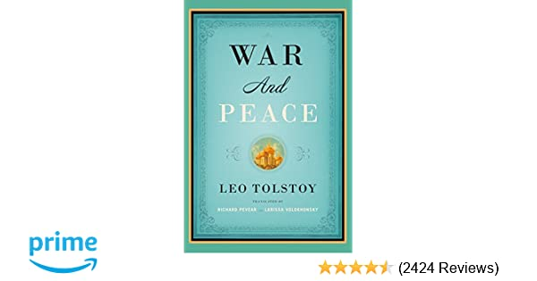 war and peace book summary