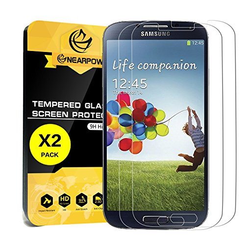 Tempered Glass Screen Protector for Samsung Galaxy S4 - 9