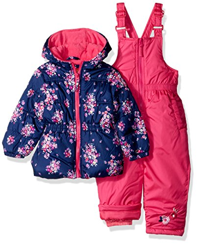 a039ccf4053c Baby Girls Cream Floral Snowsuit Marks   Spencer Rrp £22