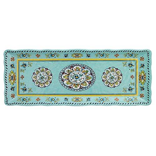 - Le Cadeaux Madrid Baguette Tray, Turquoise