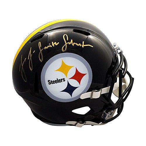 JuJu Smith-Schuster Autographed Pittsburgh Steelers Speed Full-Size Helmet - JSA COA ()