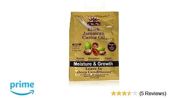 Amazon.com: Okay Black Jamaican Castor Oil Leave-in Deep Conditioner, 1.5 Ounce: Beauty