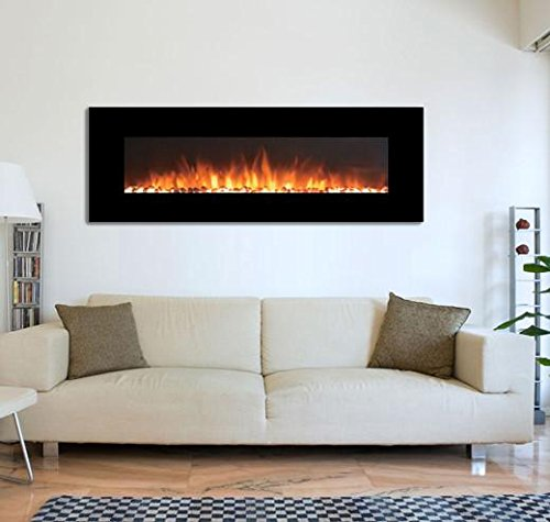 electric fireplace glass - 7