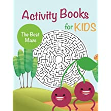 Activity Books for Kids: The Best Maze