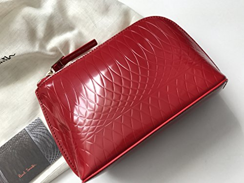 9 Make Red Bag Zip No Leather Ladies Red Smith Paul Up Fasten RPw5qAxE