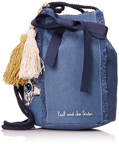 Paul & Joe Sister 7jean - Sac à dos pour femme, Bleu (jeans), 7x15x20 Cm (bX H T)