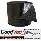 Filter Queen Activated Charcoal Prefilter Wrap Defender 4000 Replacement Filter by GoodVac (3)