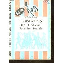 Législation du travail sécurité sociale