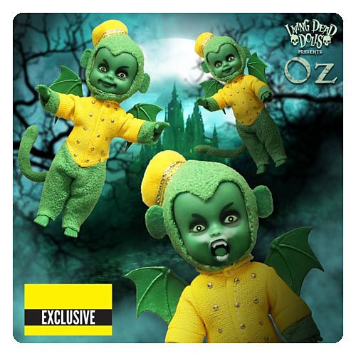 Living Dead Dolls - The Wizard of Oz Flying Monkey Three Pack Exclusive (Flying Monkeys In Wizard Of Oz)