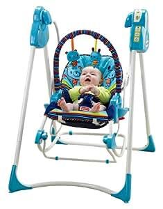 """Baby Gear - Columpio Hamaca 3 en 1"""", juguete con sonido (Mattel P6948)"""