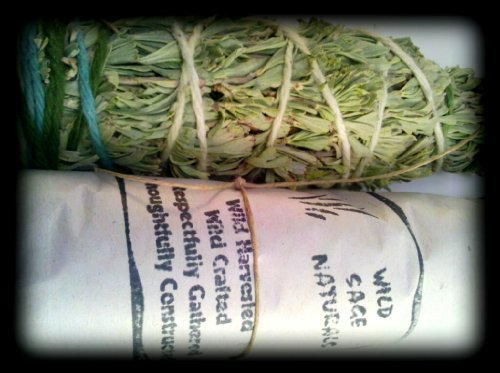 (Sage and Sweet Grass 5 Inch Smudge Wild Sage)