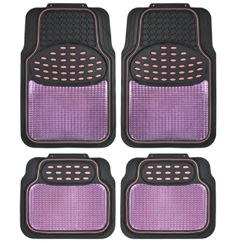 purple car floor mats - 3