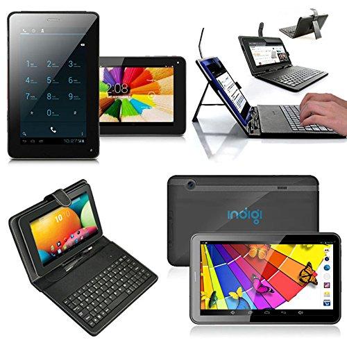 inDigi® 7in Mega Android 4.2 SmartPhone Phablet Tablet PC w/ Free Keyboard Case by inDigi