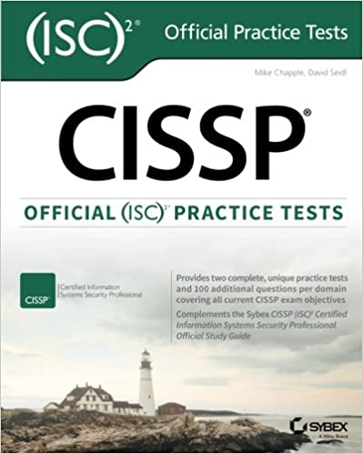 Cissp official isc 2 practice tests 9781119252283 computer workbook fandeluxe