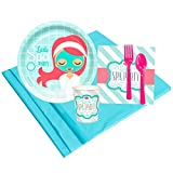 BirthdayExpress Little Spa Party Supplies - Party Pack for 8 Guests