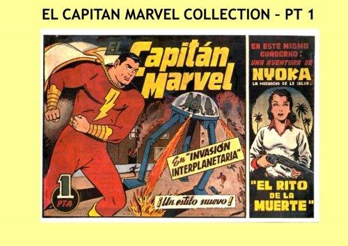 El Capitan Marvel Collection - Pt 1: Great Spanish language Superhero Comics - Issues #1-7 - All Stories - No Ads