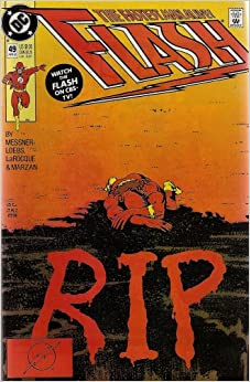 Image result for the flash r.i.p. cover