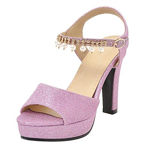 KemeKiss Women Platform Sandals Peep Peep Peep Toe Parent B07FJPTYYM d978fb