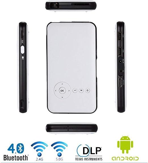 Proyector casero, proyector Video de HD, 8G proyector Portable ...
