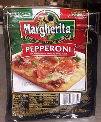 (Margherita Pepperoni Italian Style Sliced)