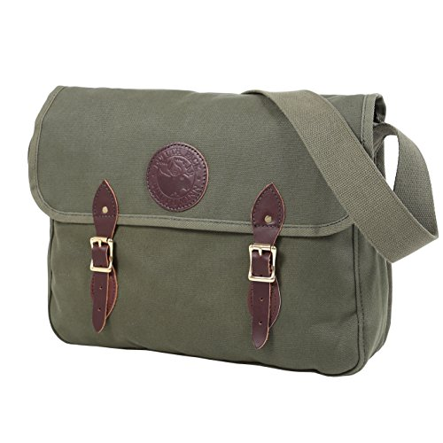 Duluth Pack 15-Inch Laptop Book Bag, Olive Drab, 11 x 16 x 4-Inch by Duluth Pack