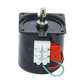 Motor eléctrico pequeño AC 220 V 14 W ajustable de baja ...